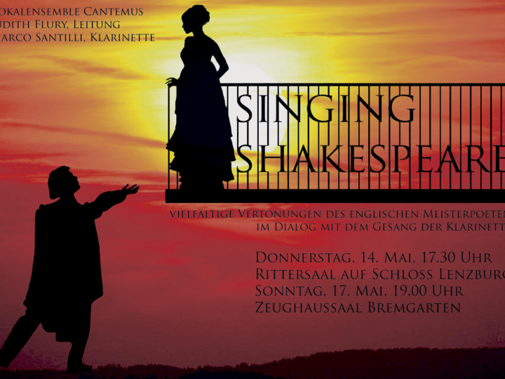 Maikonzerte 2015: Singing Shakespeare