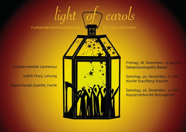 Cantemus Light of Carols Vorne Quer besser