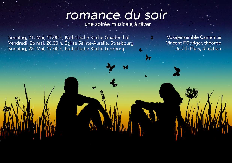 Flyer Romance du soir mail vorne